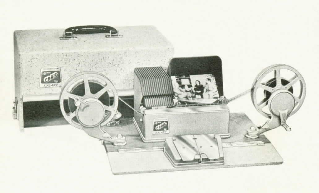 Vintage Media Equipment cine editing equipment page